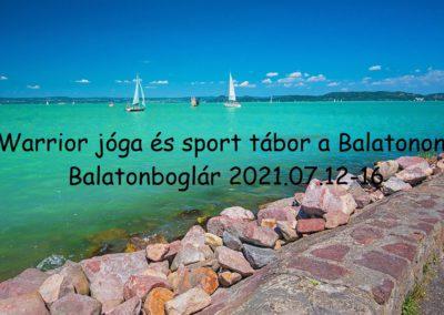 Balatonboglár nyári tábor